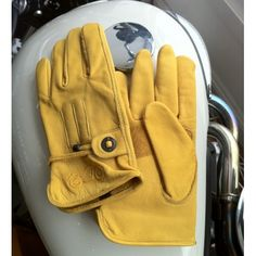 The Cafe Racer Motorcycle or Scooter Gloves - THE CAFE RACER | FREE UK DELIVERY