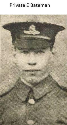 Private E Bateman