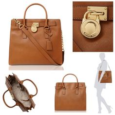 Large ML Hamilton in camel Beautiful ML bag.   Michael Kors Hamilton tote Saffiano leather brown Luggage with MK polyester logo lining. Double handles. A logo-engraved lock accent at front, Magnetic closure.  feet. Interior zip and open top pockets with key keeper hook. Dimensions: Width: 14 inches x Height: 13 inches x Depth: 6 1/2 inches. Approximate strap drop length: 14 1/2 inches.   Check out my other designer items :) Michael Kors Bags