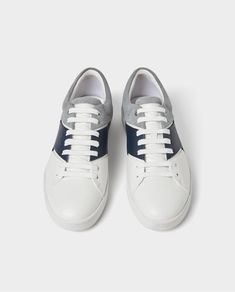 low priced 35386 c447d Image 2 of THREE-TONE PLIMSOLLS from Zara Zara, Plimsolls, Sneakers, Mens