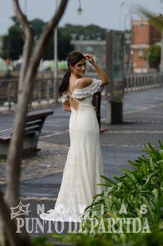 Vestido de Novia / wedding dress - con quillas
