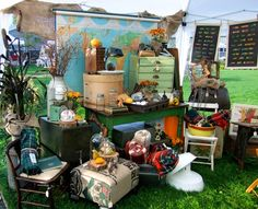 if there were flea markets like this near me? I'd never be home!