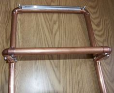 Making Copper Looms....Archie Brennan specs. - SDW Saffron Dye Works by D L Rigter