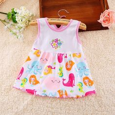 Cute Casual Printed Dress. #petitelapetite #summerbabyclothes #girls #hipster #babyclothes #onesie #onesies #onesieset #bodysuit  #bodysuitset #romperset #baby #babies #toddler #toddlers #summer #summerwear #clothing #cute #toddlerwear #babywear   #summerclothes #clothes #cotton #babyclothesforsale #cutebabyclothes #coolbabyclothes #uniquebabyclothes #trendybabyclothes   #babyclothessale #babyclothesideas #babyclothesus #freeshipping