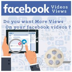 Buy Facebook Views  Anyone who has an organization requires understanding marketing with video. It is likely you understand how tough marketing is.