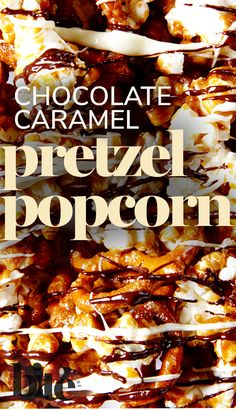 The secret is out of the bag - you can finally stop buying overpriced and stale candied popcorn! Lisa has created a recipe that allows you to easily and expertly whip up batch after batch of this incredible Chocolate Caramel Popcorn & Pretzels. In this sweet and salty treat (and amazing edible gift!), popcorn and pretzels are tossed with a homemade caramel sauce, baked and then drizzled with melted chocolate. #valentinesdayrecipe #familyrecipe #sweettooth #movienight
