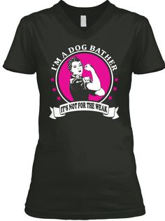 "Dog Bather: T-Shirts and HoodiesCheck your size by clicking on ""Buy It Now"".    100% Designed & Printed in the USA!    SSL SAFE & SECURE CHECKOUT via           VISA 