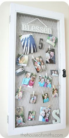 window photo gallery display or thought about doing this for a message board.
