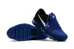 We Are Your Right Choice to get Stylish Nike Air Max 2017 Top Running Shoes Mens Blue Black White Special Top Running Shoes, Mens Running Trainers, Fashion Boots, Sneakers Fashion, Men's Sneakers, Nike Free Shoes, Nike Shoes, Shoe Sites, Blue Nike