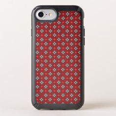 Red hearts pattern speck iPhone case - pattern sample design template diy cyo customize