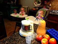 3 Ladies and Their Gent: Homemade Baby   Food {Recipes & Storage}