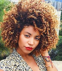 AFRO OF THE DAY #1390 pictured: René Daniella @ownbyfemme #afro #natural #black #hair