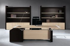 Commercial desk and storage set ABC by Luca Scacchetti BABINI OFFICE