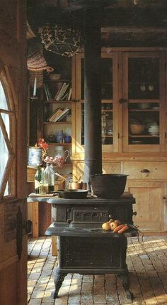 Woodstove - Someday I will have a woodstove for the kitchen