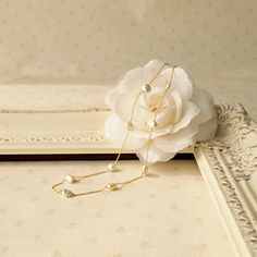 Pebbly necklace    8,800yen