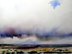Jill Melliick, Storm, the Jemez Mountains, Northern New Mexico