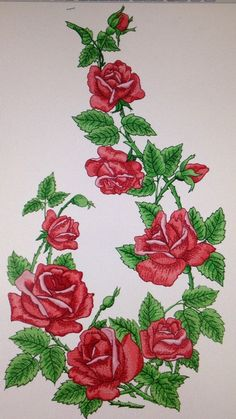 Advanced Embroidery Designs - Rose Arbor Set