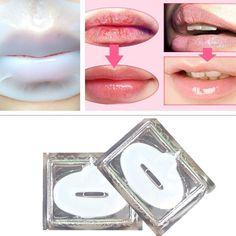 3 pcs New Hot Lip Plumper Crystal Gel Collagen lip Mask Pads Moisture Essence Anti Ageing fuller plumper Full Lips Enhancer Z4|9002e7dc-4128-4407-bf2e-e6091f35d907|Lip Care