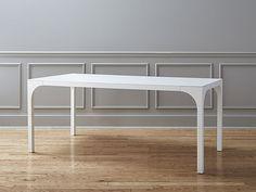 Wooden table Aqua Virgo: With demontable legs | Met demonterende tafelpoten