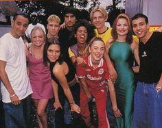 Son Cosas Mías! » Blog Archive Las Spice Girls y los Backstreet Boys juntos