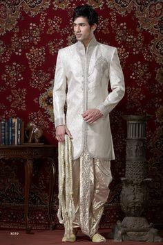 Sherwani For Men : Sherwani Designs, Designer, Groom & Wedding Sherwanis. We are Jugniji.com selling Indian wedding sherwanis online and on this page you can buy @ Shop online at http://jugniji.com/mens-collection/western-look-sherwani/western-sherwani-2117.html