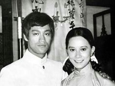 Bruce Lee and Nora Miao