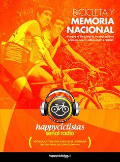 HAPPYCICLISTAS SEÑAL RADIO #28. BICICLETA Y MEMORIA NACIONAL