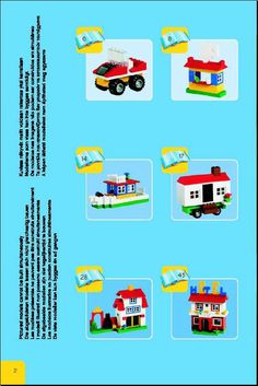 tons of lego directions... print out and make a binder...