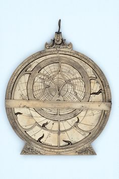 MHS, Oxford: Astrolabe with Astronomical Volvelle, 1613