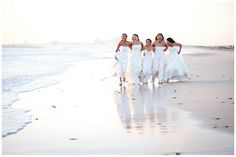 Five friends made a decision that once the last of the group got married, they would all get back into their dresses one last time & do a ph...