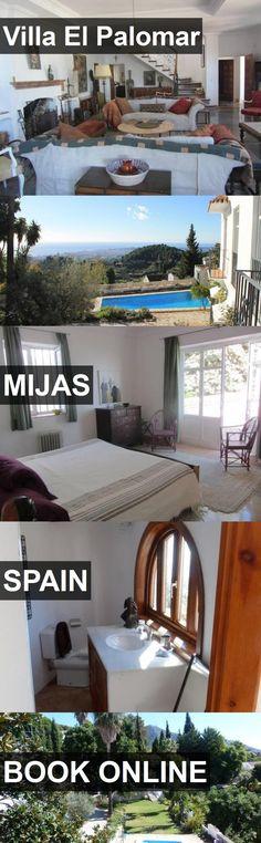 Hotel Villa El Palomar in Mijas, Spain. For more information, photos, reviews and best prices please follow the link. #Spain #Mijas #VillaElPalomar #hotel #travel #vacation