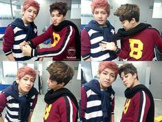 V ( Taehyung ) & Jimin