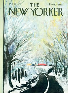 The New Yorker - Saturday, February 27, 1965 - Issue # 2089 - Vol. 41 - N° 2 - Cover by : Arthur Getz