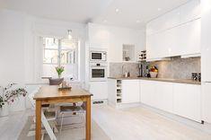 Minimalist Apartment Design in Stockholm with Unique Details