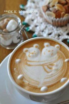 Bears Latte Art
