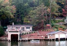 Cottage vacation rental in Lake Lure looks tranquil.