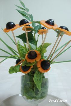 How To Make Food Garnishes | ... colourful & special within few minutes.And it is really easy to make