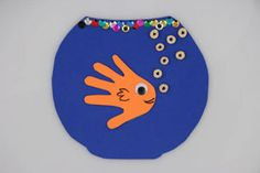Handprint fish & fishbowl