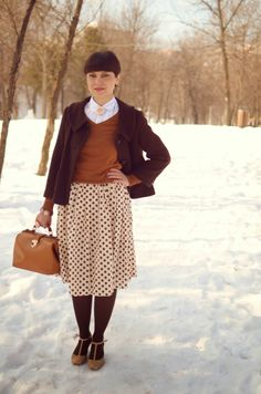 Dotted winter
