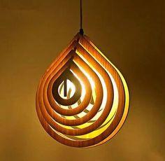 DXF Plans Downloads - Lamp water drop