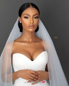 Black Bridal Makeup, Bridal Makeup Looks, Natural Wedding Makeup, Bridal Hair And Makeup, Bridal Beauty, Wedding Hair And Makeup, Hair Makeup, Natural Bridal Hair, Simple Wedding Makeup