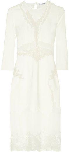 Altuzarra Paradis twill, lace and georgette dress on shopstyle.com