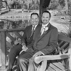 These grooms look so happy! Gay Wedding - Indelible Events LGBT Wedding Planner in Connecticut and New York
