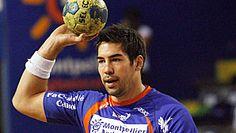 Nikola Karabatic joueur emblematique du Montpellier handball et de l equipe de France