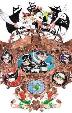 Batman: Li'l Gotham 8 - Art and cover by Dustin Nguyen Dc Comics, Free Comics, Dustin Nguyen, Batman Universe, Dc Universe, Comic Art, Comic Books, Im Batman, Batman Stuff