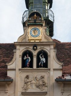 Glokenspiel in Graz - Styria, Austria Innsbruck, Budapest, Places Around The World, Around The Worlds, Graz Austria, Carinthia, Parks, Living In Europe, Austria Travel