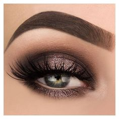 More Stunning Eyeshadow Looks from Makeup Thang ❤ liked on Polyvore featuring beauty products, makeup, eye makeup and eyeshadow