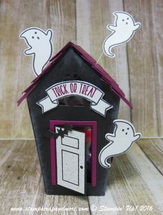 Create the cutest treat packaging in town using the Home Sweet Home bundle! #stampinup #holidaymini2016