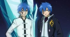 "Siegrain <3 and Jellal from ""Fairy Tail""  confusing dynamic"