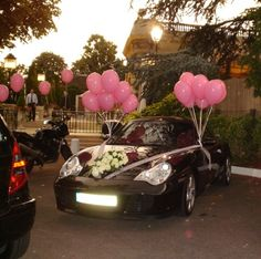 Voitures and mariage on pinterest for Decoration 2cv mariage